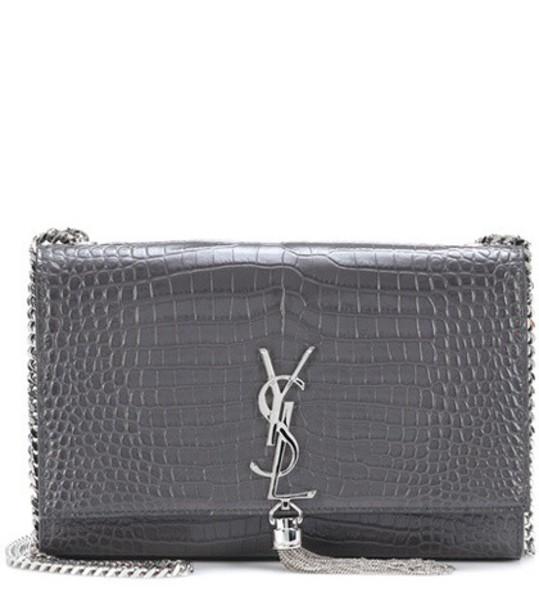 Saint Laurent classic bag shoulder bag leather grey