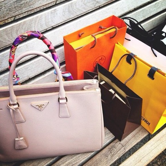 bag prada prada bag fashion style high end shopping nude bag classy nude