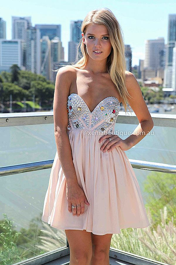 LOBEY MOLLY DRESS , DRESSES, TOPS, BOTTOMS, JACKETS & JUMPERS, ACCESSORIES, SALE, PRE ORDER, NEW ARRIVALS, PLAYSUIT, COLOUR, GIFT CERTIFICATE,,Pink,Sequin,STRAPLESS Australia, Queensland, Brisbane