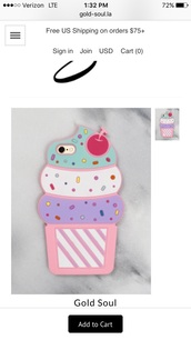 phone cover,iphone cover,iphone case,pink ice cream iphone 6  cover,ice cream,iphone 6 case