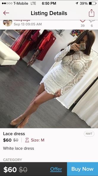 dress lace dress long sleeve dress mini dress