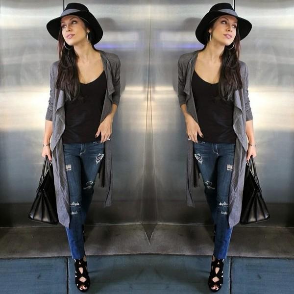 shoes tank top pants blouse bag