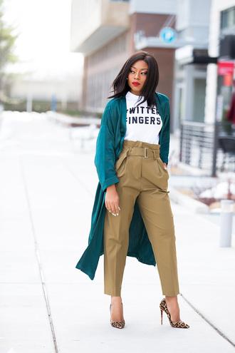 jadore-fashion blogger pants t-shirt jacket shoes
