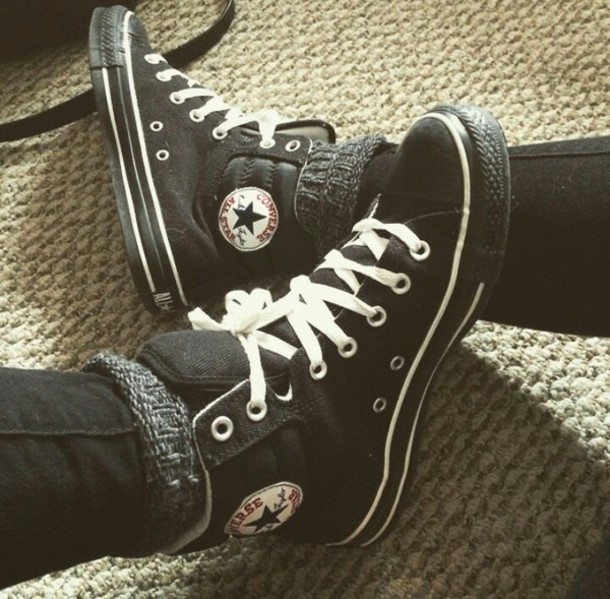 shoes chuck taylor all stars black chuck taylor all stars converse high top sneakers high top converse converse