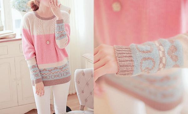 sweater cute sweaters pastel