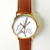 jewels,watch,handmade,style,fashion,vintage,etsy,freeforme,paris,eiffel tower,leaning tower,father's date,fathers date,gift ideas,summer,spring
