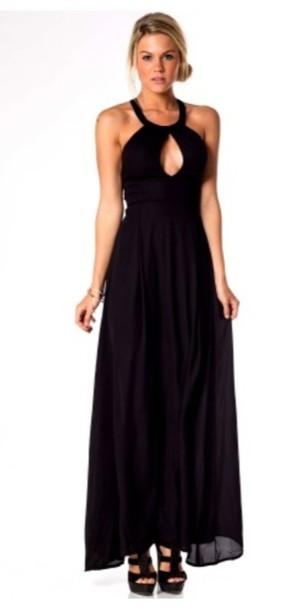 dress maxi dress black dress shoes wheretoget