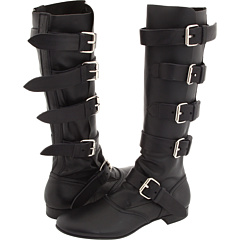 Vivienne Westwood Pirate Boot Buttero Black/Elbamatt Black - Zappos Couture