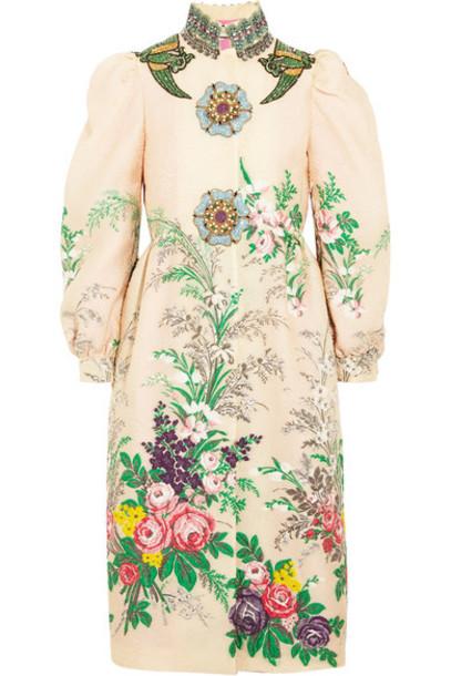 coat embroidered embellished