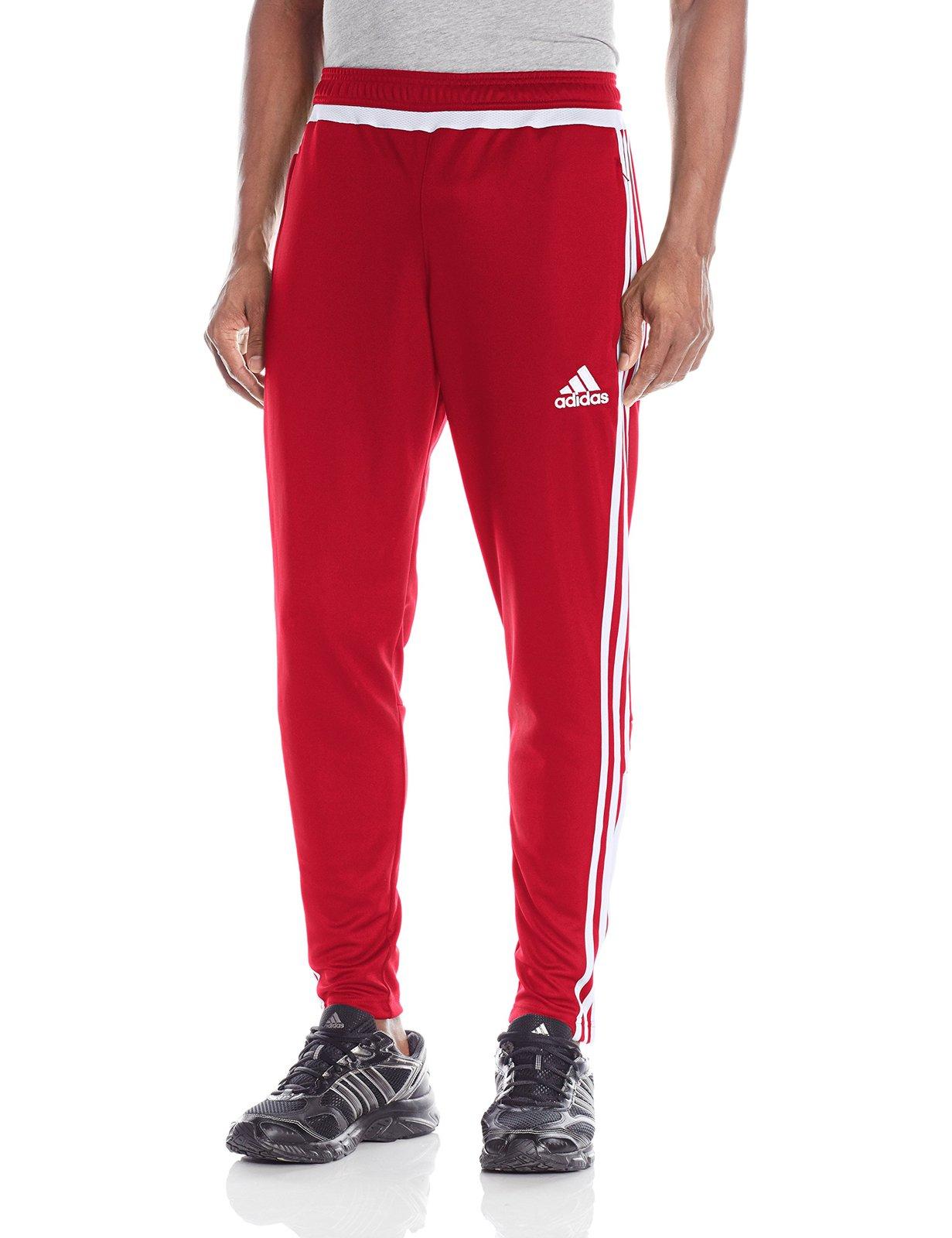 złapać wybór premium duża zniżka adidas Performance Men's Tiro 15 Training Pants, Red, Small