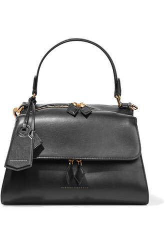 moon leather black bag