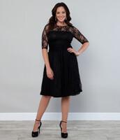 dress,lace,black,cute dress,lace dress,plus size