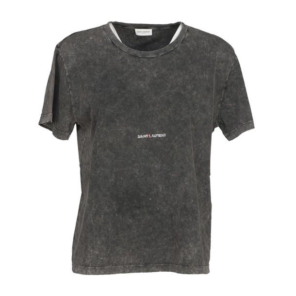 Saint Laurent t-shirt shirt t-shirt grey top