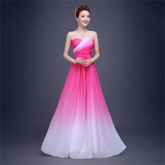 dress evening dress prom dress graduation dresses rose red long prom dresses formal dress party dress chiffon prom dress long dress bridesmaid evening outfits prom formal party dresses