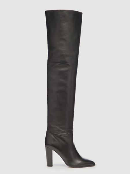 Frame x Tamara Mellon Over The Knee Boot Noir