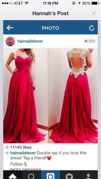 dress long backless