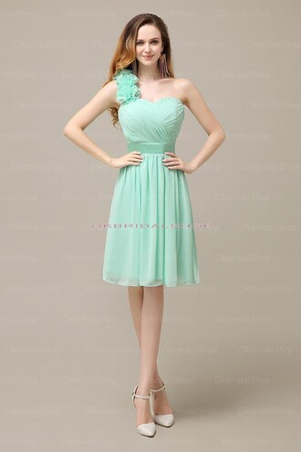 dress mint short dress mint dress prom dress mint prom dress
