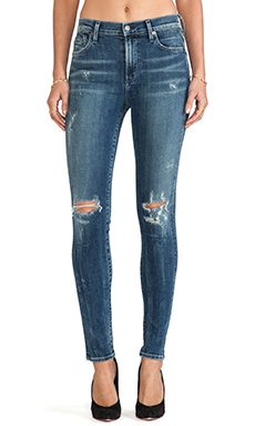 Citizens of humanity rocket high rise skinny in indie from revolveclothing.com