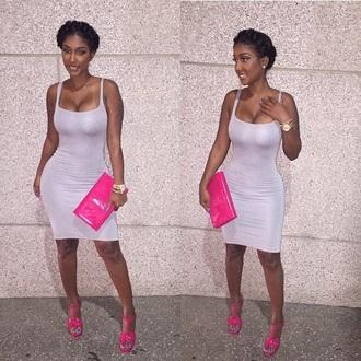 dress sleeveless bodycon dress