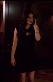 dress,lucy hale,pretty little liars,aria montgomery