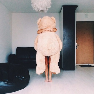 cute sweet stuffed animal holiday season girly wishlist lifestyle top home accessory teddy bear cardigan smile love ???? hugs and kisses kisses and hugs bear soft grunge lovely miami life blake lively