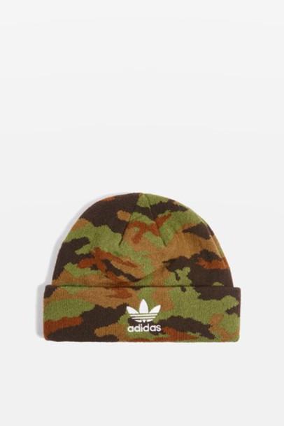 Topshop camouflage hat beanie
