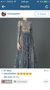 dress,grey dress,silver dress,mesh dress,sequin dress,long sleeve dress,prom dress,prom gown,bridal,Valentino