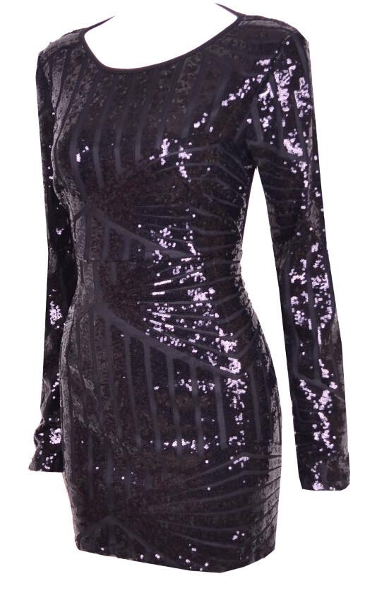 Elecktra sequin dress