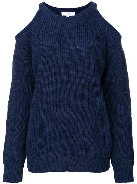 Iro jumper women cold blue sweater