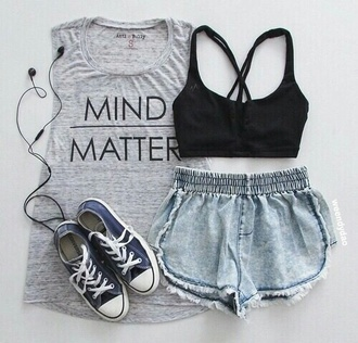 dress mind metter grey dress white dress shorts