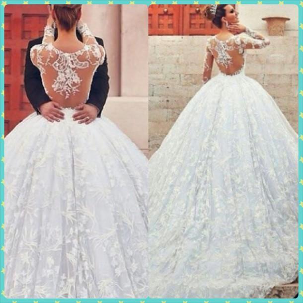 Dress: who is the designer?, wedding dress, wedding clothes, wedding ...