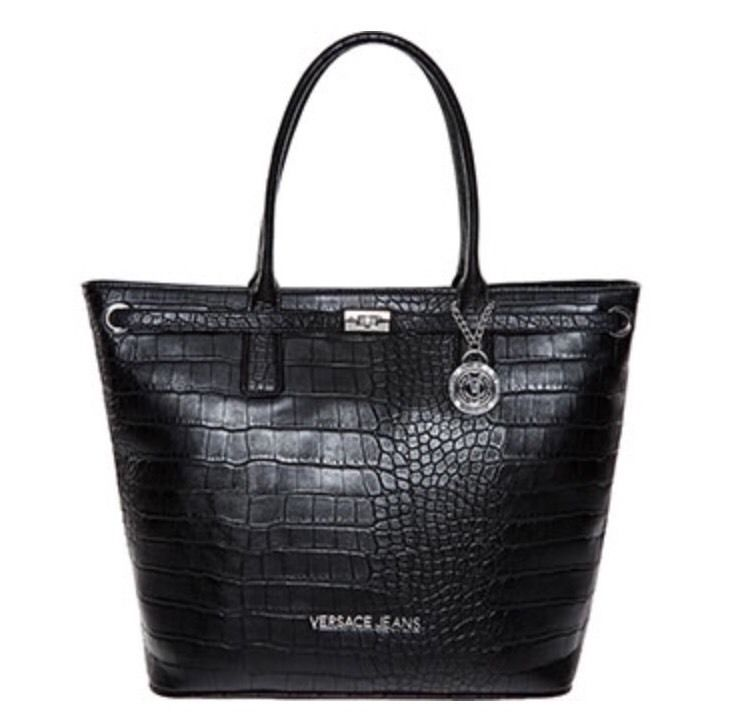 Versace Jeans reptile Effect Tote Bag RRP £135.99 SEE DESCRIPTION