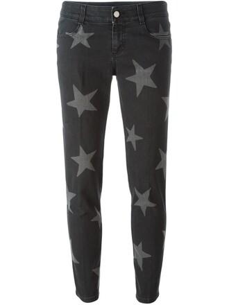 jeans boyfriend print black