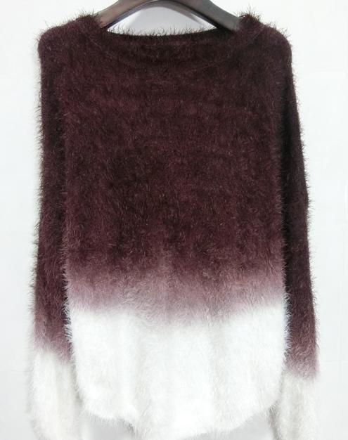 Cute gradient fashion sweater