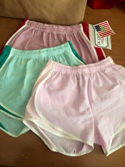 color cute shorts color shorts pastel