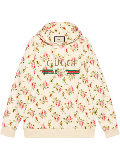 gucci sweatshirt rose women cotton print purple pink sweater