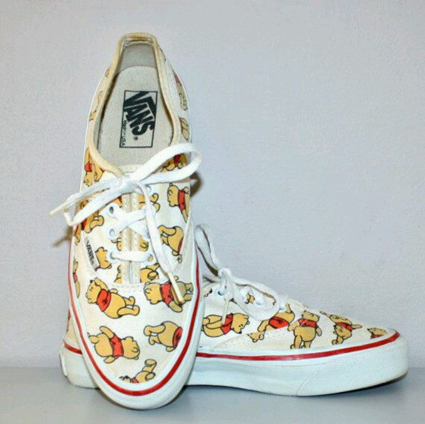 shoes vans winnie the pooh