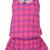 Contrast Color Dot print Vest in Purple [DLN0047] - PersunMall.com
