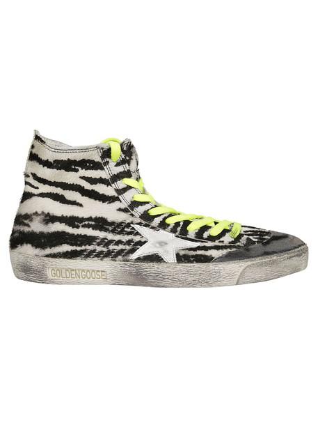 Golden goose zebra sneakers multicolor shoes