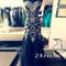 Black a-line sweetheart neckline long prom dresses, evening dresses - 24prom