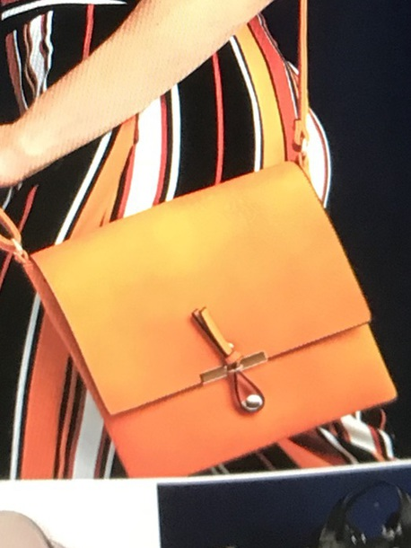 bag orange crossbody