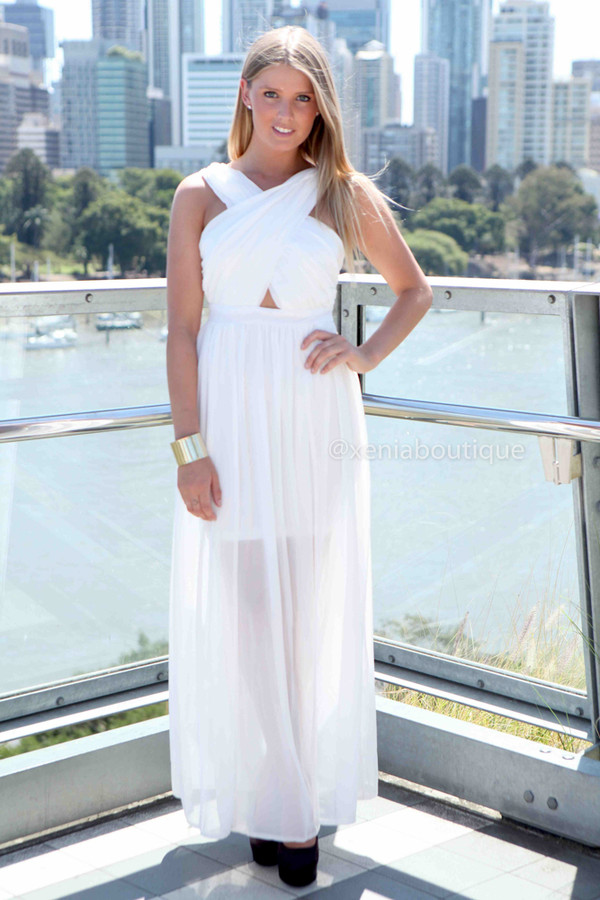 dress women's clothing maxi xeniaboutique white dress