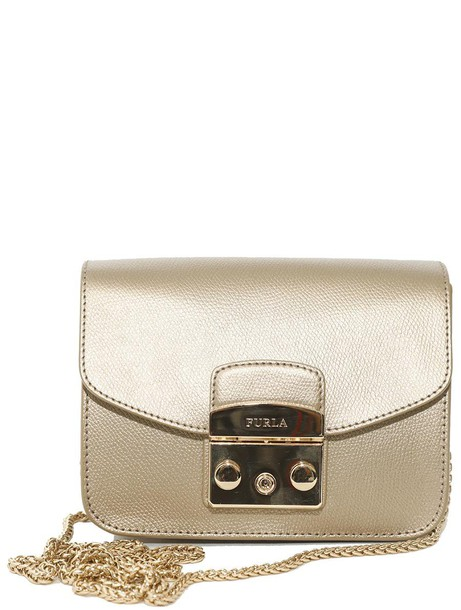 Furla bag shoulder bag gold