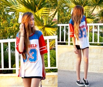 t-shirt romwe romwe t-shirt 93 shirt number fashion