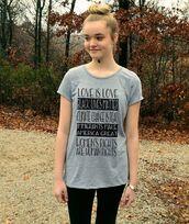 t-shirt,black lives matter,grey t-shirt,black leggings,leggings,hair bun,hairstyles,quote on it,equality
