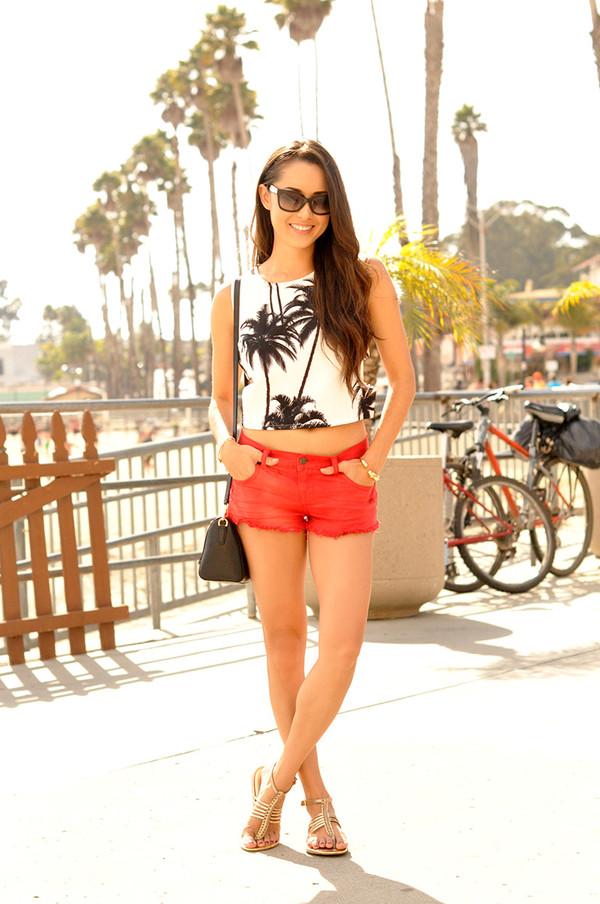 hapa time blogger top bag sunglasses
