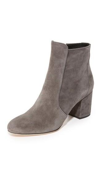 dark booties shoes