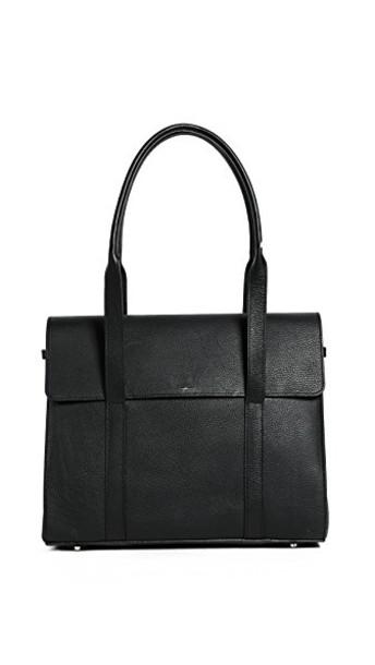 Shinola satchel soft black bag