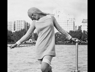 dress brigitte bardot vintage retro mod 1960s dress unusual