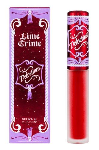 Amazon.com: Lime Crime Velvetines Lip Gloss Red Velvet Rich Velvety Red: Beauty